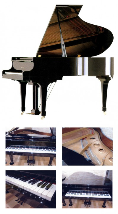 カワイグランドピアノ-CA40A